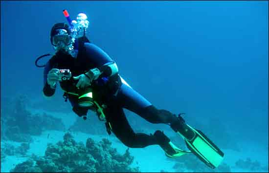 Scuba Diving is one of the most popular activities in and around Phuket.