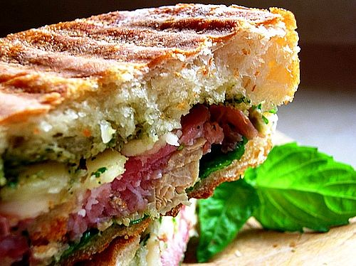 Photograph of a succulent  Panini - History of the Panini